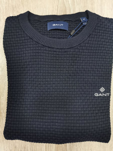 GANT - Signature Weave Crew (M only) - Tector Menswear