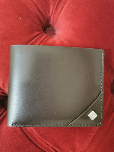 GANT - Leather Signature Wallet, Black Coffee - Tector Menswear