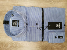 Load image into Gallery viewer, Strellson - Sereno, Slim Fit 2-Ply Blue Shirt - Tector Menswear