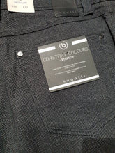 Load image into Gallery viewer, Bugatti - 5 Pocket Constant Colour Stretch Grey Jeans - Tector Menswear