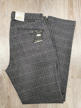 Load image into Gallery viewer, Bugatti - Grey Check Chino, Modern Fit