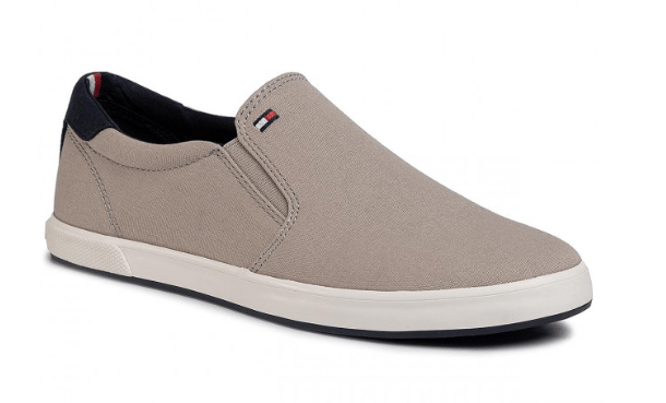 Tommy Hilfiger - Iconic Slip On Sneaker (Stone)