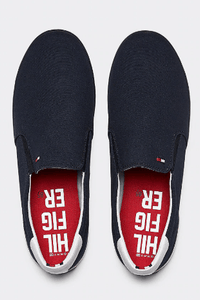 Tommy Hilfiger - Iconic Slip On Sneaker (Midnight) - Tector Menswear