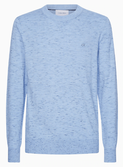 Calvin Klein - Space Dye C-Neck Sweater (M Only) - Tector Menswear