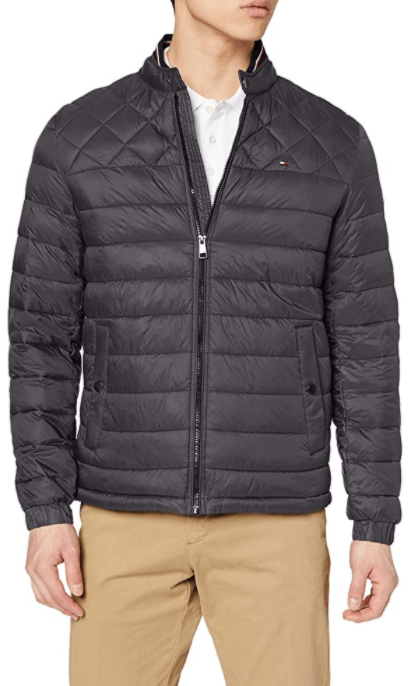 Tommy Hilfiger - Lightweight Padded Bomber, Grey