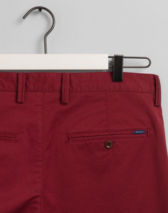 GANT - Relaxed Fit Shorts, Mahogny Red