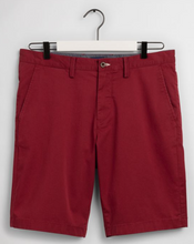 Load image into Gallery viewer, GANT - Relaxed Fit Shorts, Mahogny Red