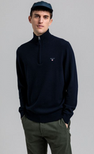 Load image into Gallery viewer, GANT - Superfine Lambswool Half Zip, Marine
