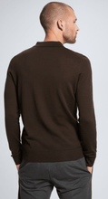 Load image into Gallery viewer, Strellson - Martin Longsleeve Polo, Dark Brown - Tector Menswear