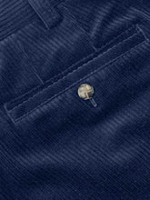 Load image into Gallery viewer, Meyer - Roma Navy Cotton Corduroy Trousers