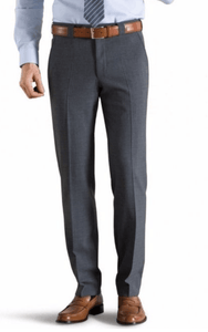 Meyer - Trousers, Roma style, Mid-Grey - Tector Menswear