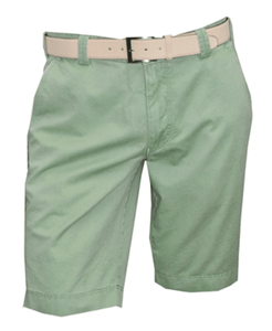 Meyer - B-Palma Shorts, Washed Green - Tector Menswear