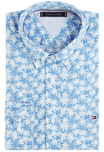 Load image into Gallery viewer, Tommy Hilfiger - Palm Leaf Print Shirt (M & L Only)
