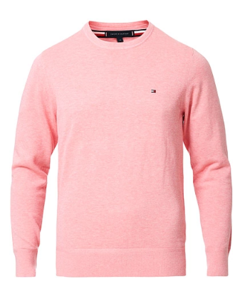 Tommy Hilfiger - Organic Cotton Silk Crew Neck