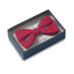 Premium Silk Bow Tie Colourful Pattern