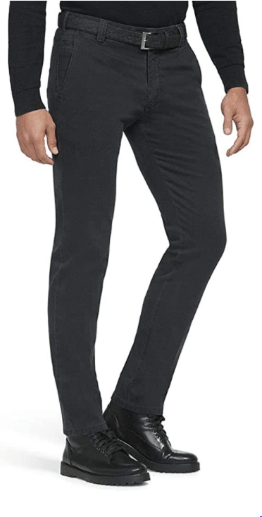 Meyer - Roma, Grey Super Stretch Trouser - Tector Menswear