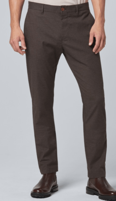 Strellson - Rypton Trousers, Dark Brown Pattern - Tector Menswear