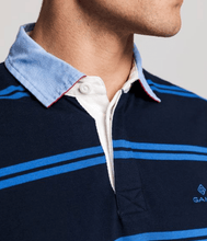 Load image into Gallery viewer, Gant - Contrast SS Heavy Rugger, Evening Blue - Tector Menswear