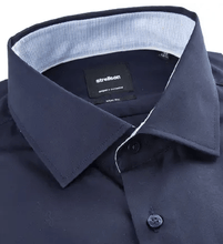 Load image into Gallery viewer, Strellson - Santos-C, Slim Fit Navy Shirt - Tector Menswear