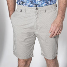 Load image into Gallery viewer, Bugatti - Bermuda Shorts Beige With Micro Dot Print - Tector Menswear