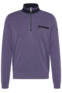 Bugatti - Men's sweatshirt in Purple (Sizes L & XXXL Only) - Tector Menswear