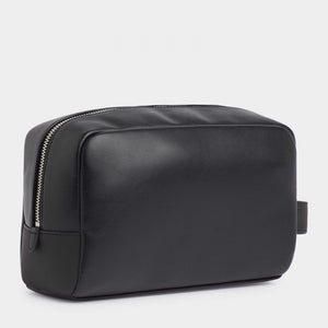 Tommy Hilfiger - Black Leather Washbag