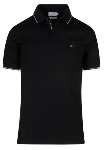 Calvin Klein - Black tipped polo