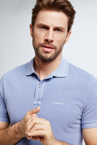Strellson - Philip Polo in Pastel Blue - Tector Menswear