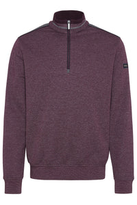 Bugatti - Sweat Shirt Troyer, Port - Tector Menswear