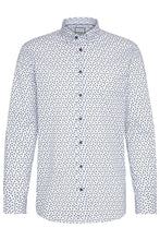 Load image into Gallery viewer, Bugatti - Blue Modern Fit Shirt, City Print - Tector Menswear