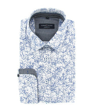 Load image into Gallery viewer, Casa Moda - Dotted Print Under Button Shirt - Tector Menswear