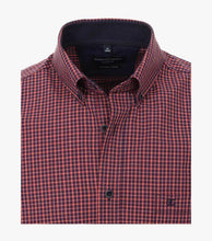Load image into Gallery viewer, Casa Moda - Organic Cotton Small Check Shirt - Tector Menswear