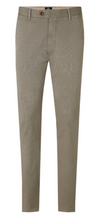 Load image into Gallery viewer, Strellson - Slim Fit Silver Geometric Print Chinos