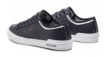 Load image into Gallery viewer, Tommy Hilfiger - Core Corporate Leather Sneaker - Tector Menswear