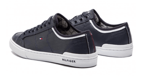 Tommy Hilfiger - Core Corporate Leather Sneaker - Tector Menswear