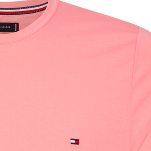 Tommy Hilfiger - Stretch Slim Fit T-Shirt - Pink