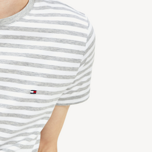 Tommy Hilfiger - Stretch Slim Fit T-Shirt - Striped (XL only)