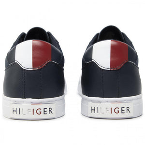 Tommy Hilfiger - Essential Leather Collar Sneaker, Midnight
