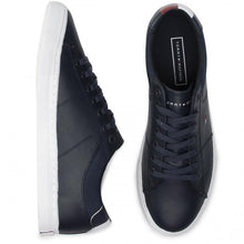 Load image into Gallery viewer, Tommy Hilfiger - Essential Leather Collar Sneaker, Midnight