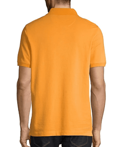 Bugatti - Floral Trim Polo, Orange - Tector Menswear
