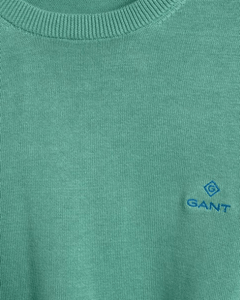 Gant - Classic Cotton Crew, Peppermint