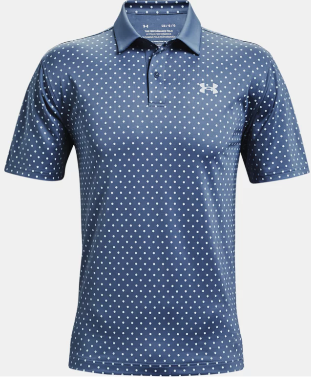 Under Armour - Men's UA Performance Printed Polo, 470 (S & L Only)