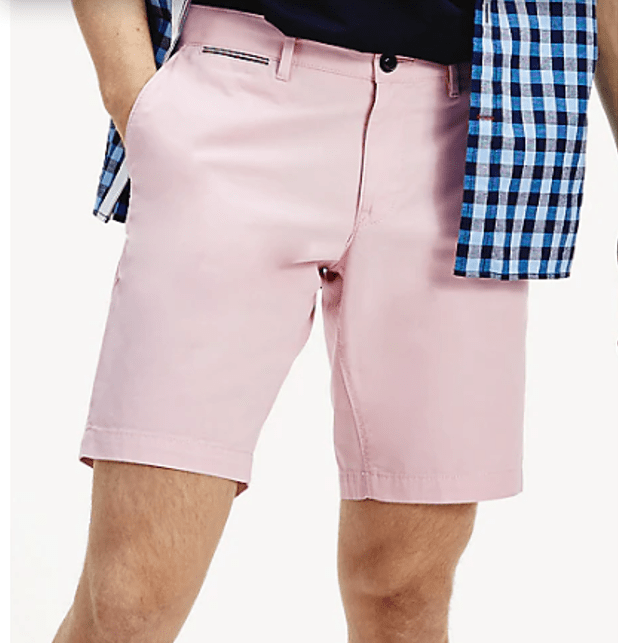 Tommy Hilfiger - Brooklyn Shorts Light Twill - Pink (34W & 38W Only)