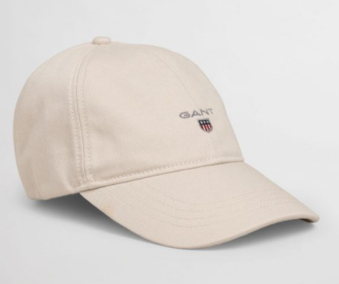 GANT - Cotton Twill Cap, Putty