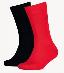 Tommy Hilfiger - 2 Pack Tommy Original Red Sock and Navy Sock - Tector Menswear