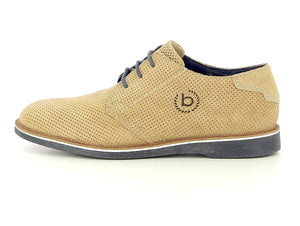 Bugatti - Lace Up Shoes in Sand