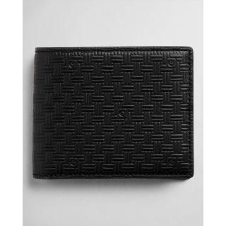GANT - Leather Signature Weave Wallet - Tector Menswear