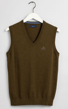 Load image into Gallery viewer, GANT - Classic Cotton Slipover, Hazelnut Melange