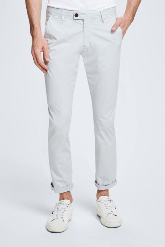 Strellson - Slim Fit Chinos Pastel Gray