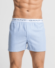 Load image into Gallery viewer, GANT - 2-Box shorts, navy check/strip